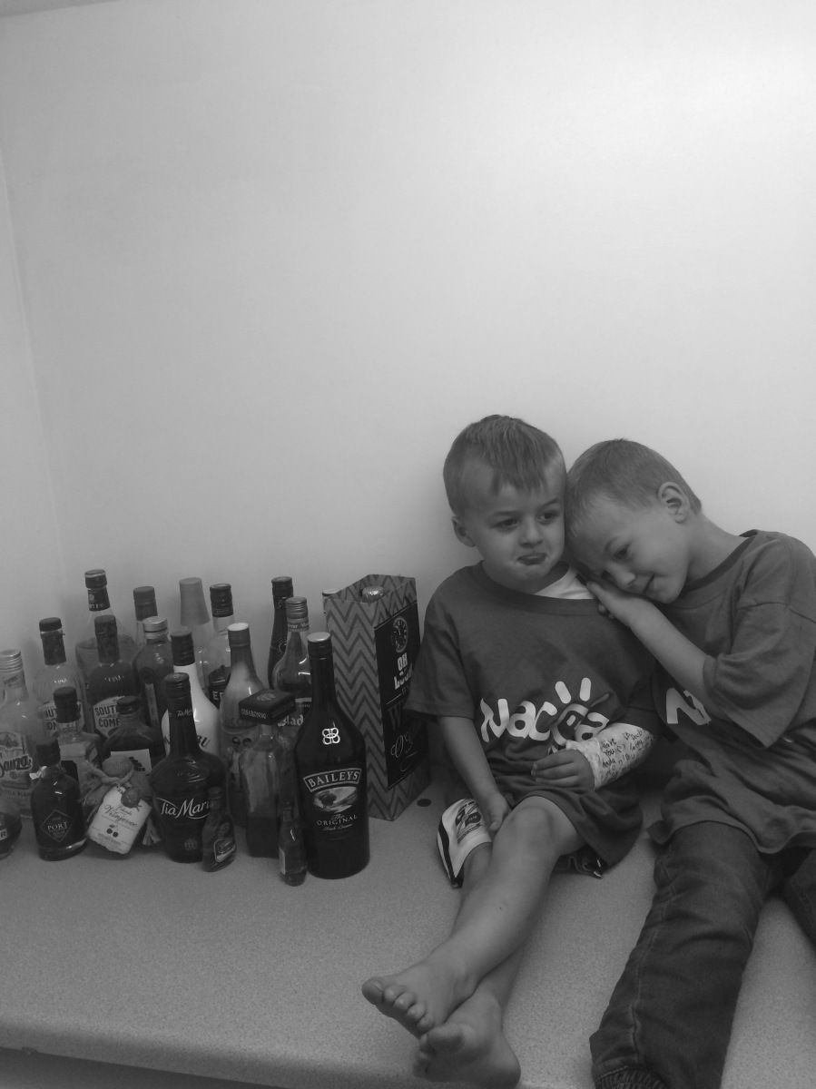 Why I chose alcohol over my kids... every time!!